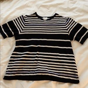 Short Sleeve Cotton Blouse